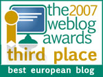 2007 Weblog Awards - Best European Blog